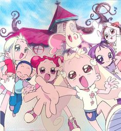 Ojamajo Doremi - I will always be totally in love with this anime <3