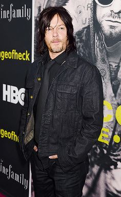 Norman Reedus attends HBO's 'Kurt Cobain: Montage Of Heck' Los Angeles Premiere