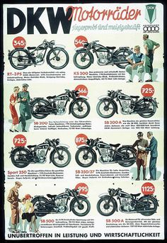 DKW was the most successful motorcycle company in 1939
