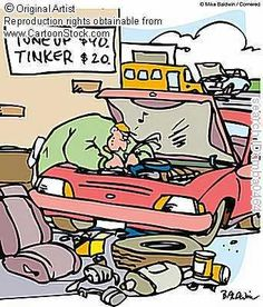 auto mechanic cartoons