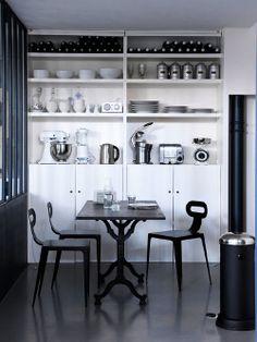 Estante de cozinha organizada Fonte: desire to inspire