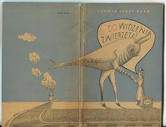 Goodbye animals.Cover by Daniel Mróz. 1956.