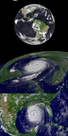 Hurricane Katrina From Space