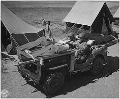 Jeep Ambulance FDR Library by lee.ekstrom, via Flickr