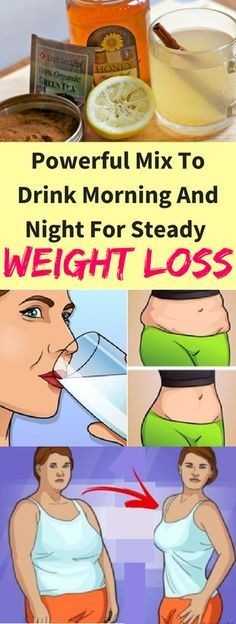 Powerful Mix To Drink Morning And Night For Steady Weight Loss