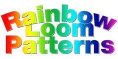 Rainbow Loom Patterns | Rainbow Loom Instructions, Bracelets