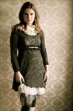 Dress / tunic & underskirt - Cream   Dorotheas eventyr
