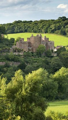 Dunster Castle - Exmoor National Park - England - via daily webshot pictures