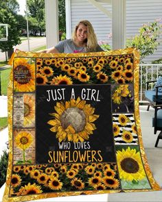 Sunflower Quilts, Happy A, Silky Touch, Custom Quilts, Decorative Throws, Pick One, First Love, Great Gifts, Baby Shower