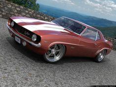 1969 Camaro mild custom by dangeruss.deviantart.com on @deviantART