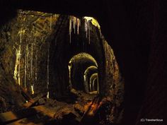 Roeder Gallery at Rammelsberg Mine, Germany Underground Tour, Lower Saxony, Germany, Gallery, Painting, Photo Illustration, Painting Art, Deutsch, Paintings