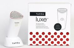 The Tanda Luxe is a skin rejuvenating device that offers professional level anti-age treatments that you can do in your home. Anti Aging Treatments, Health And Beauty, Valentines, Amazing Things, Giveaways, Karma, Canada, Easter, Valentine's Day