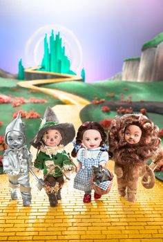 Kelly® Doll and Friends- The Wizard of Oz™  Collector Edition  Designed by: Sharon Zuckerman  Release Date: 6/3/2003