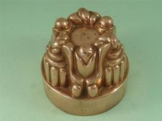 RARE 371 Victorian Benham Froud Copper Jelly Mold Large Marked Antique | eBay