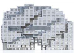 MVRDV (Pas-Bas). Tetris bancaire. | Décoration maison, meubles maison jardin et design intérieur sur Artdco.net