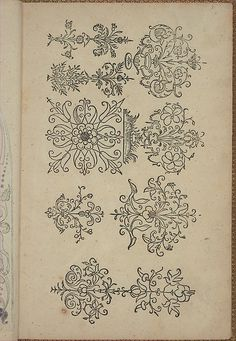 New Modelbüch (Page 8r).  ANdreas Bretschneider.  1615