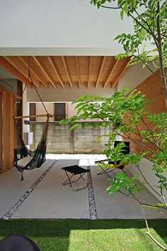 Kiryu& house: Space architecture-A house created by a first-class architect office . Bali, Outdoor Spaces, Outdoor Decor, Dream House Exterior, Space Architecture, Japanese House, Interior And Exterior, Beautiful Homes, House Plans