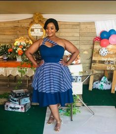 African Bridesmaid Dresses, African Wear Dresses, African Wedding Dress, African Attire, Emo Dresses, Wedding Dresses, Tsonga Traditional Dresses, South African Traditional Dresses, Pedi Traditional Attire