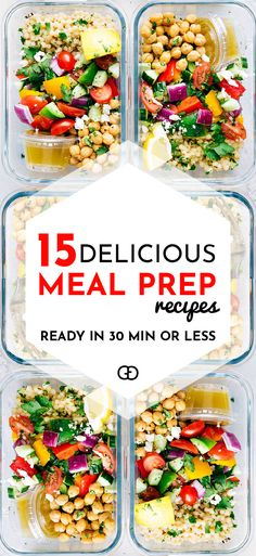Meal Prep Recipes Ideas: Avoid packaged food cravings and frozen meals this week by preparing nutritious breakfast, lunches and dinners ahead of time. ... From protein-packed to vegetarian-friendly, here you can find plenty of recipe inspiration to get you started! These are the perfect healthy meal prep recipes for the week!