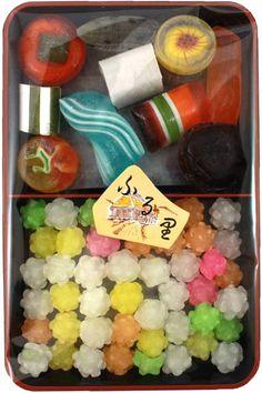 New Traditional 'Dagashi' Bento – Kompeito $5.50 http://thingsfromjapan.net/new-traditional-dagashi-bento-kompeito/ #traditional Japanese candy #Japanese snack #Japanese candy