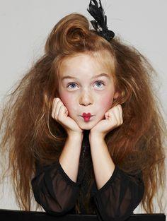 kids test // idea and styling: styleplay.dk // photo: klercke.dk // hair and makeup: zaeschke.dk // girl from little-people.dk