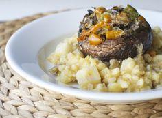 Champiñones rellenos/ Stuffed mushrooms | En mi cocina hoy