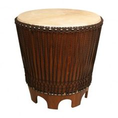 """Drum End Table, 24"""" with Beater $373.10"""