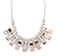 Designer Clothes, Shoes & Bags for Women Art Deco Necklace, Trends, Statements, Collar Necklace, Women Jewelry, Gold, Bohemian, Shoe Bag, Retro