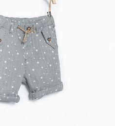 ZARA - KIDS - Star print shorts
