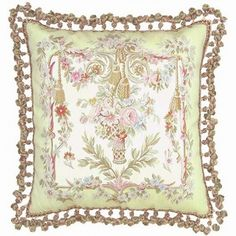 VIntage French and Shabby Chic Home Decor French Decor, French Interior, French Fabric, Floral Pillows, Tapestry Weaving, Shabby Chic Homes, Vintage Pink, French Antiques, Hand Weaving