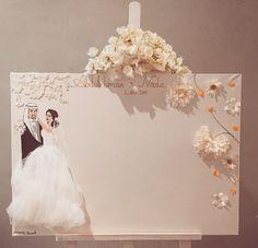 Weddings Memory Board 50x70cm