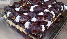 Food N, Food And Drink, Party Desserts, Greek Recipes, Love Is Sweet, Tapas, Sweet Tooth, Cooking Recipes, Sweets