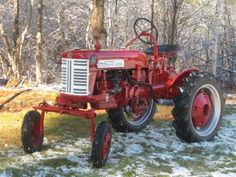 Farmall Cub tractor.  http://www.farmallcubforever.com