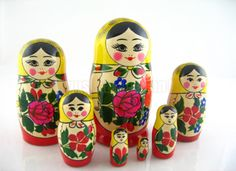I've always wanted a set of Russian dolls :)