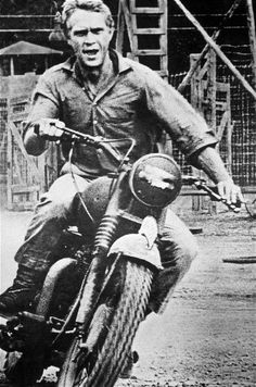 Steve McQueen's introduction to Triumph motorcycles - Telegraph
