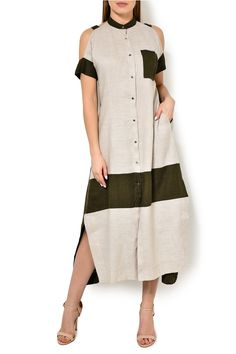 Indirect gown (Look) purchase for 26 590 rubles (artwork . Abaya Fashion, Fashion Dresses, Beautiful Casual Dresses, Fancy Dress Design, Stylish Work Outfits, Look Fashion, Fashion Design, Check Dress, Classy Casual