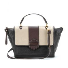TOTE FLIPPING OUT COLOR BLOCK IN PELLE seen @ www.mytheresa.com