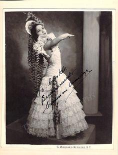 Amaya, Carmen - Signed Photo in Performance
