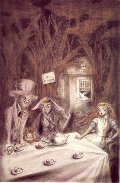 Illustration by Kuniyoshi Kaneko for Alice in Wonderland