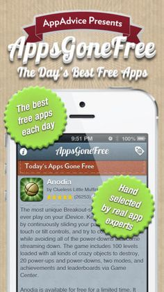 Expert-picked, top-ranked apps that have gone FREE! Requirements to be on AppsGoneFree: Must have a 3-star rating or better, haven't been free over and over again, and do NOT include outside ads!
