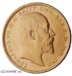 Australia  Sydney 1906 Sovereign Edward VII Gold Oro Or #407