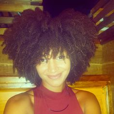 Nikki Chantal Is Naturally Glam!   Curly Nikki   Natural Hair Styles and Natural Hair Care