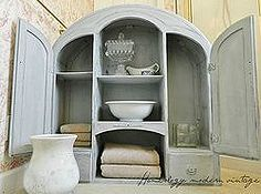 bathroom storage using the upper half of an antique secretary, repurposing upcycling, storage shelving, Once hung on the wall it will be the perfect solution for some much needed bathroom storage