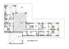 plan grande maison moderne (projet n°2)