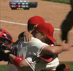 Adam Wainwright/ Yadier Molina Complete game shutout, 05/11/13