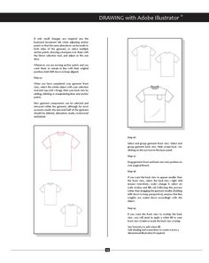 Whether you are wanting to create technical drawings of men's fashion electronically or by hand, this book will assist you with it's illustrations of menswear garments and componentry, as well as step by step instructions on creating trade flats in Adobe Illustrator. Instructions also include creating swatch fills, symbols and brushes. Book available through Amazon or download PDF via www.blurb.com