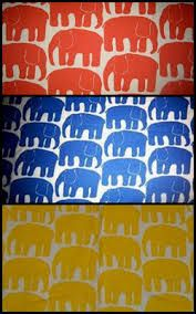 Elefanten på 70-talet. Bright Colors, Colours, 1970s, How To Make, Elephants, Vibrant Colors