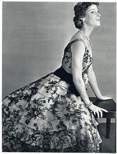 Lucile Manguin 1954  Photo by Philippe Pottier