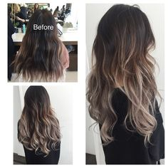 Some balayage action - cut by @mattadamshair #jesstheebesttcolor #balayage #ombre #sombre #olaplex
