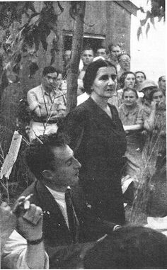 Golda Meir, 1943. --- Golda Meir (earlier Golda Meyerson, born Golda Mabovitch, Голда Мабович; May 3, 1898 – December 8, 1978) was an Israeli teacher, kibbutznik and politician who became the fourth Prime Minister of Israel  March 17, 1969, after serving as Minister of Labour and Foreign Minister.